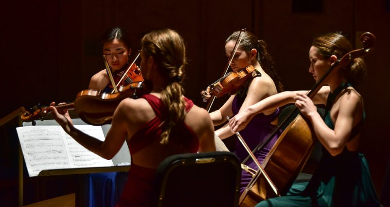 String quartet summer programs at Bowdoin Music Festival