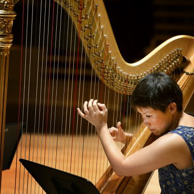 Harpist June Han