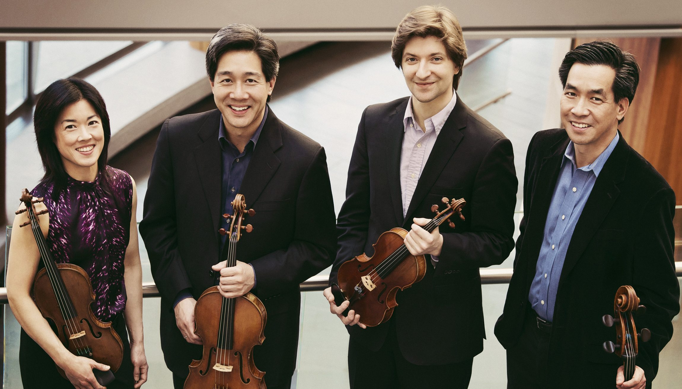 The Ying Quartet performing at Bowdoin Music Festival