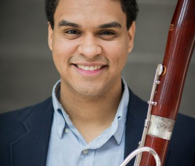 Headshot of bassoon fellow Steven Palacio