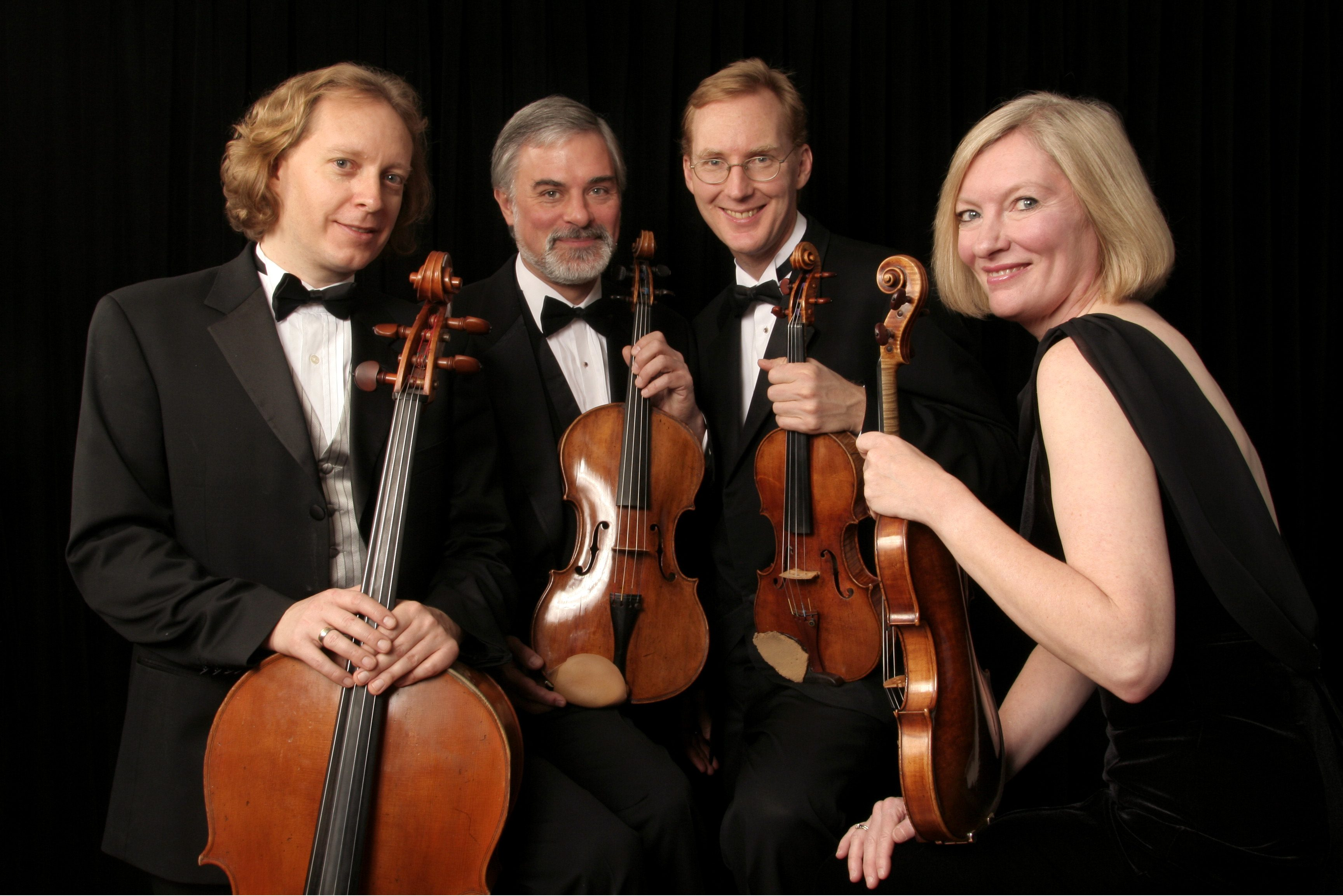 The four members of the American String Quartet