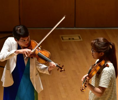 Anne Akiko Meyers Masterclass at Bowdoin Music Festival