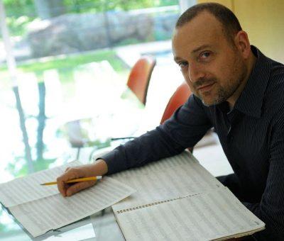 Derek Bermel, composition faculty at Bowdoin Music Festival