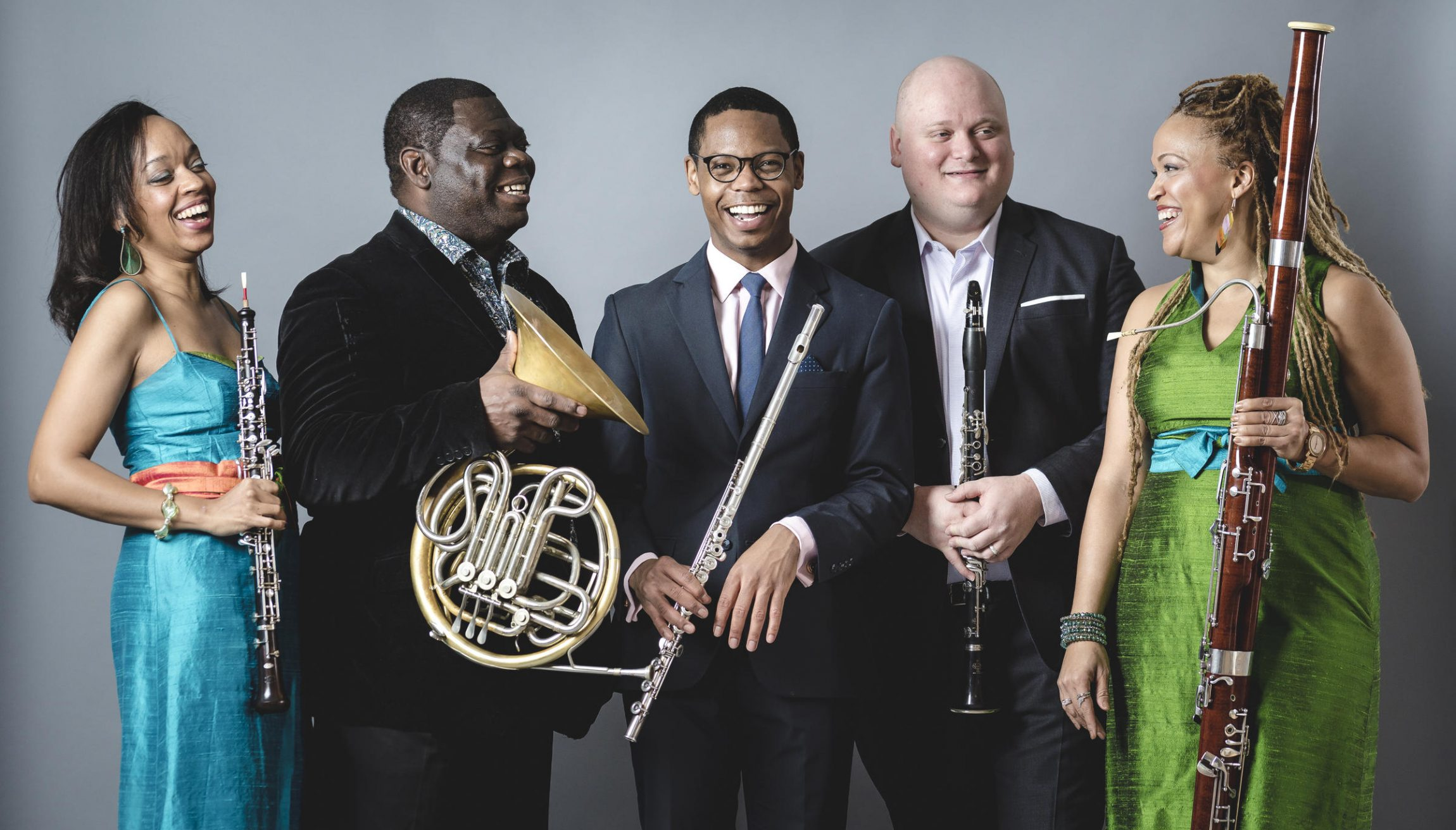Festival Sundays at Bowdoin Music Festival featuring the Imani Winds