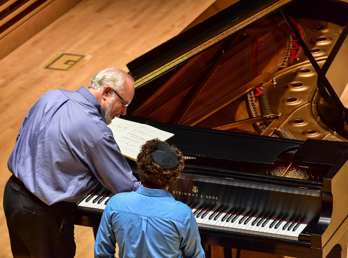 Julian Martin piano masterclass