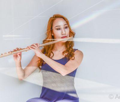 Flutist Julie Nah Kyung Lee