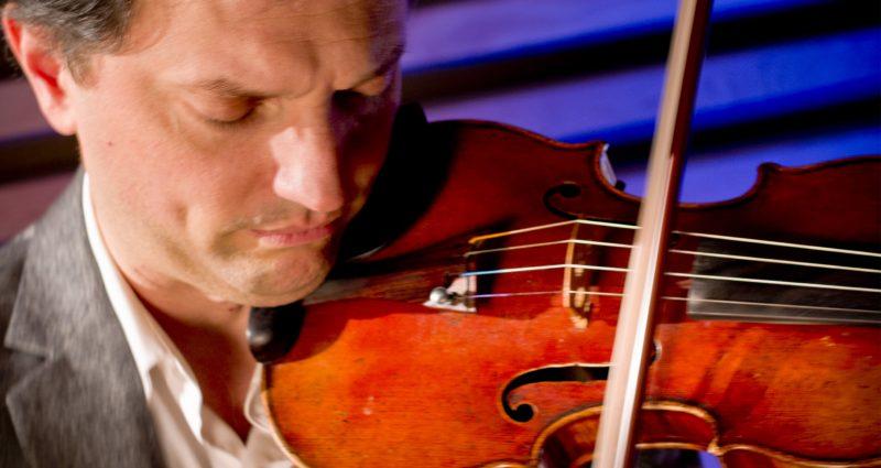 Violinist Aaron Berofsky
