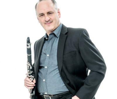 Head shot of clarinet faculty Alan Kay