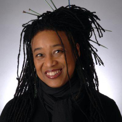 Composer Pamela Z, photo by Shawn Harris