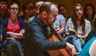 Cellist Daniel McDonough