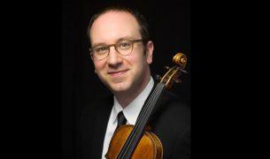 Violinist David Bowlin