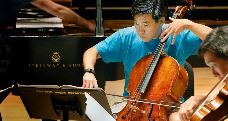 Cellist David Ying