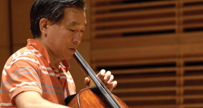 Cellist David Ying Teaching