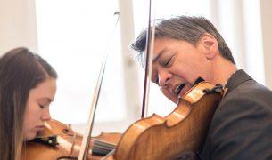 Violinist Ian Swensen