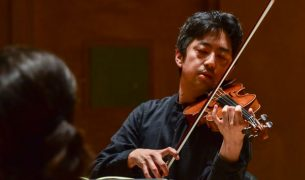 Violinist Nelson Lee