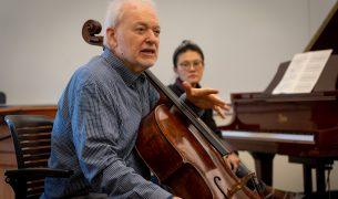 Cellist Paul Katz