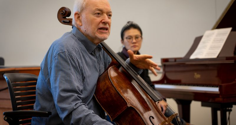Cellist Paul Katz