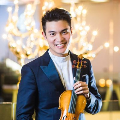 Violinist Ray Chen