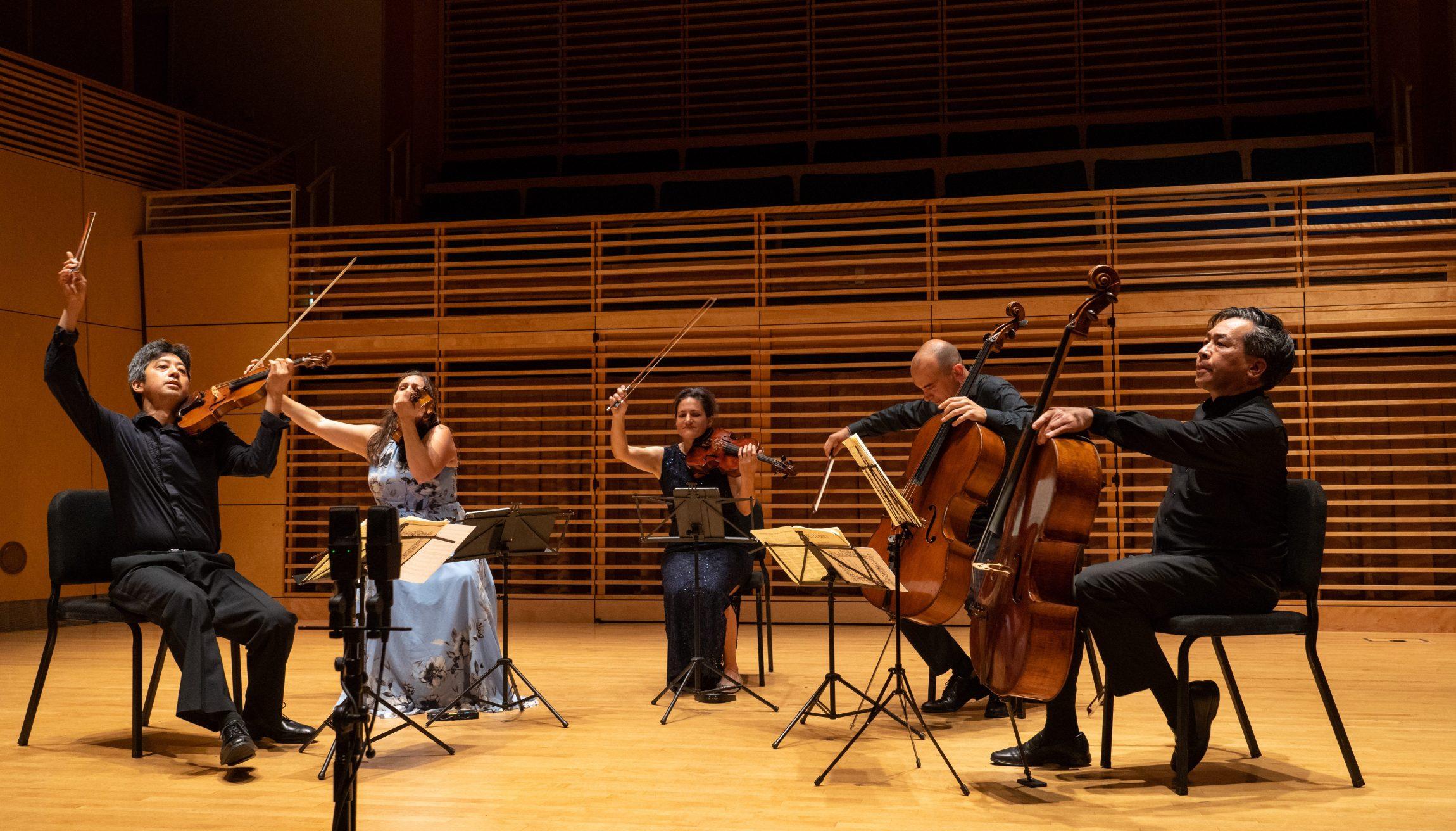Jupiter Quartet with David Ying